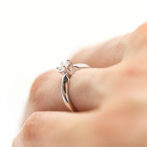GIA Certified Diamond Engagement Ring